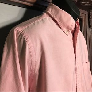Brooks Brothers Makers pink dress shirt